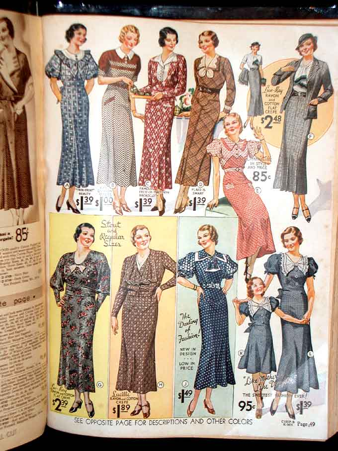 Montgomery Ward Catalogue Number 123 for fall and winter 1935-1936. Shopping catalogue.