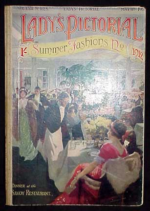 Lady's Pictorial- A Fashion and Society Paper for the Home. Fashions.