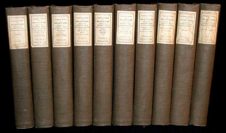 Complete Works of Oscar Wilde. Oscar Wilde.