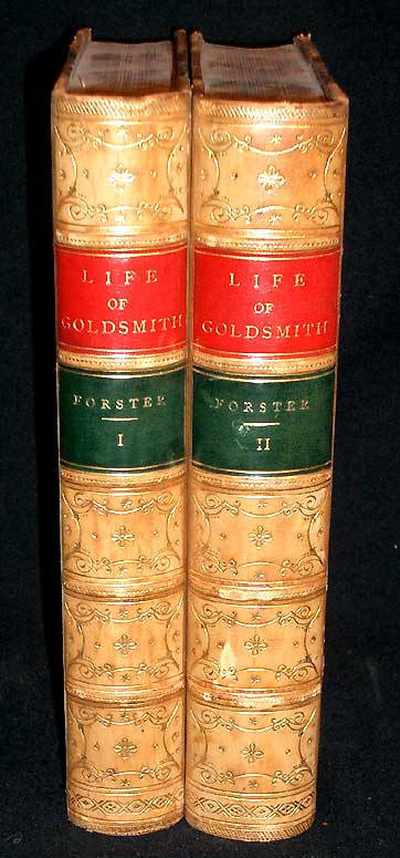 The Life and Times of Oliver Goldsmith. John Forster.