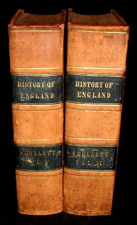 The History of England, From the Revolution in 1688, to The Death of George II. T. Smollett.