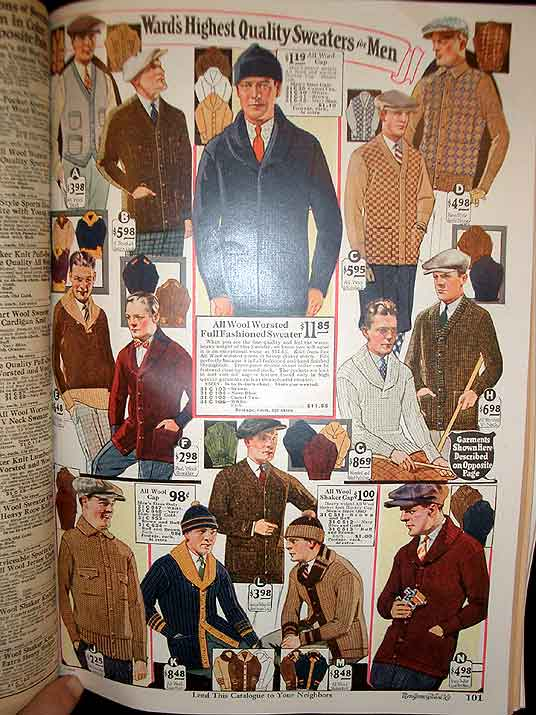 The Sears Catalogue- Fall and Winter 1933-1934.