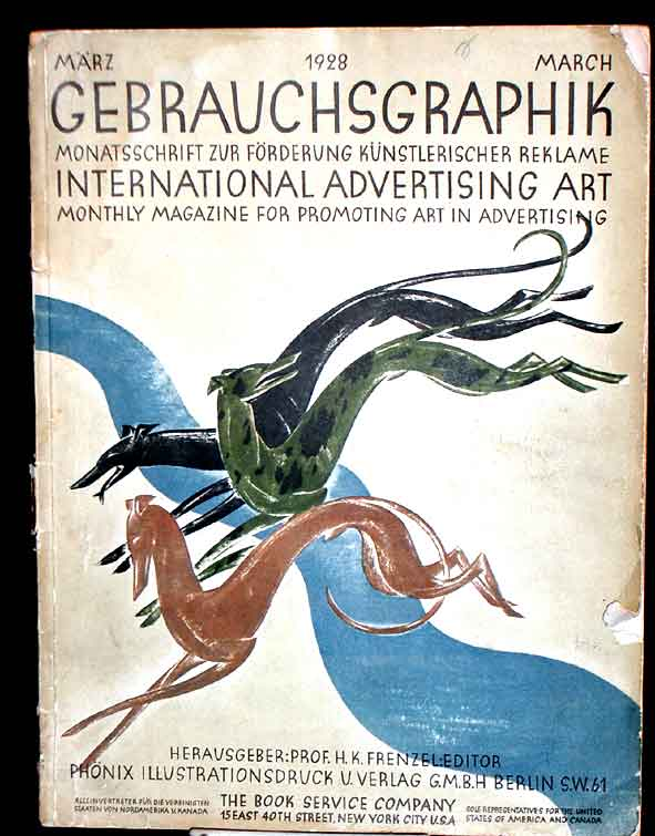 Gebrauchsgraphik- International Advertising Art.