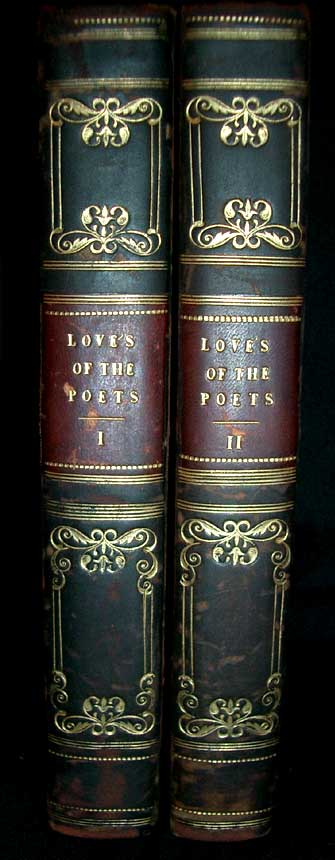 Memoirs of the Loves of the Poets. Biographical sketches of Women Celebrated in Ancient and Modern Poetry. Anna Brownwell Jameson.