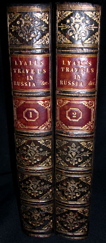 Travels in Russia, the Krimea, the Caucasus, and Georgia. Robert Lyall.
