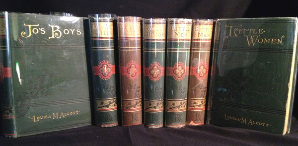 A Gathering of Novels by Louisa May Alcott - With an Inscription by Alcott. Louisa May Alcott.