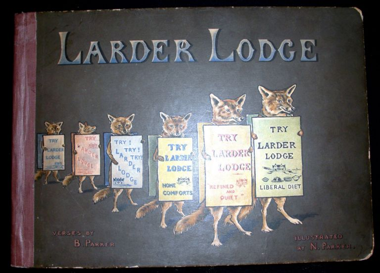 Larder Lodge. Bessie and Nancy Parker.