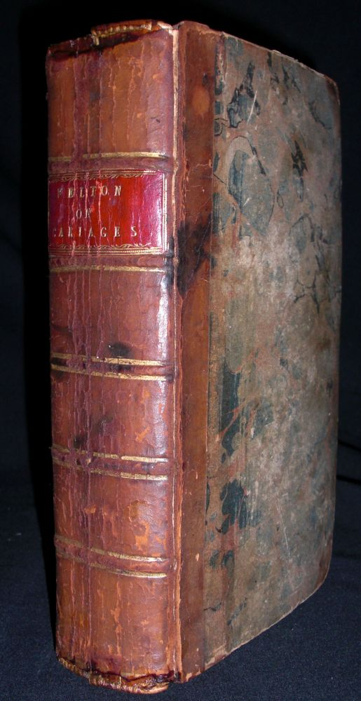 A Treatise on Carriages...The Joseph T. Cunningham Copy. William Felton.