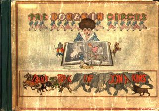 The Donakain Circus- From Don's Book of Donakins.