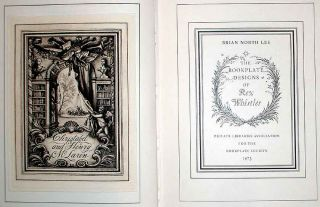 The Bookplate Designs of Rex Whistler. Brian North Lee