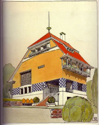 Architecture- Complete reprint of the original plates of 1901- 1914.