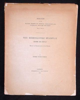 Memoires of the Peabody Museum of American Archaeology and Ethnology, Harvard University Vol. I.-...
