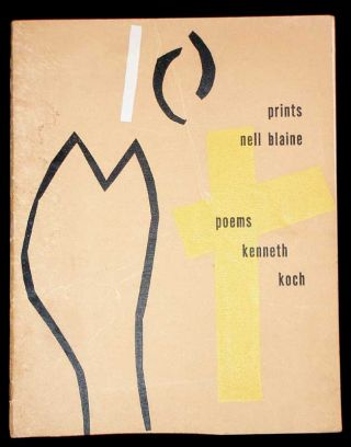 Nell Blaine Prints- Kenneth Koch Poems. Nell Blaine, Kenneth Coch