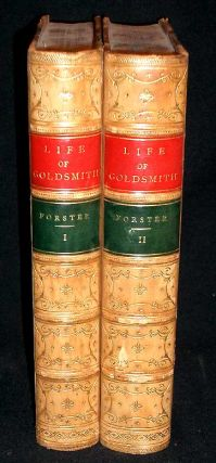 The Life and Times of Oliver Goldsmith. John Forster
