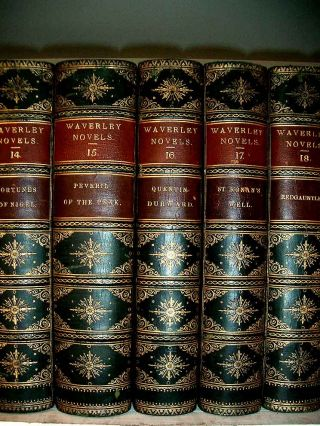 The Waverley Novels.