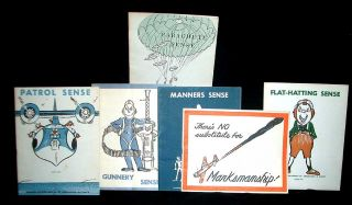 A Collection of World War II Illustrated Instruction Manuals for Aviators. n a