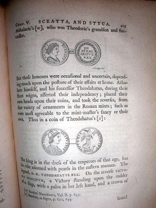 The Connexion of the Roman,Saxon,and English Coins,Deduced From Observations on the Saxon Weights and Money.