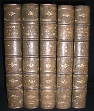 The Life of Samuel Johnson, LL.D. Including A Journal of a Tour to the Hebrides. James Boswell