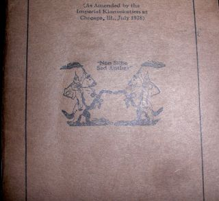 Constitution and Laws of the Knights of Ku Klux Klan Incorporated.