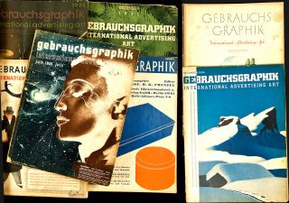 Gebrauchsgraphik: International Advertising Art - Twenty-Four Issues. H. K. Frenzel