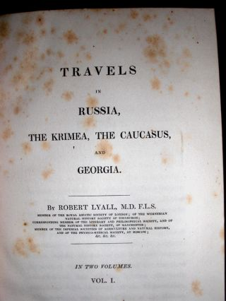 Travels in Russia, the Krimea, the Caucasus, and Georgia.