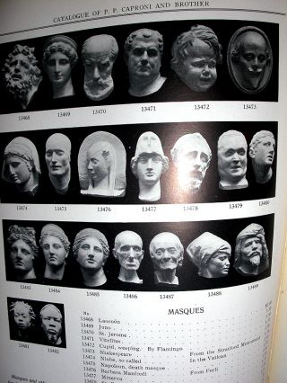Catalogue of Plaster Reproductions From Antique, Medieval and Modern Sculpture.