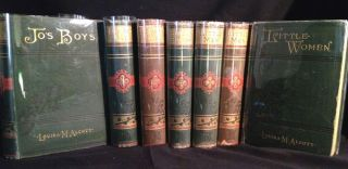 A Gathering of Novels by Louisa May Alcott - With an Inscription by Alcott. Louisa May Alcott