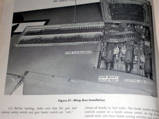 Pilot's Flight Operation Instructions for the P-51D Airplane.