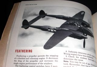 Pilot Training Manual for the P-38 Lightning.