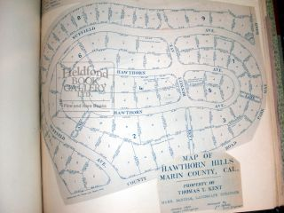 A Collection of Early Marin County Subdivision Maps
